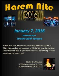January Harem Nite 2016